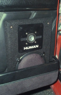 HUMAN A-61 in Audi 4000 Quattro, left door