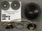 HUMAN Speakers model 81+ kit