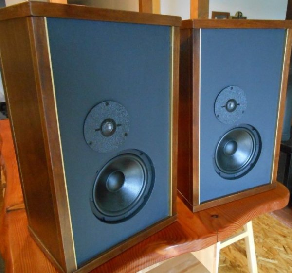 EPI 150 speakers with new HUMAN parts