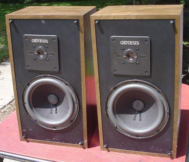Genesis 1 speakers vintage