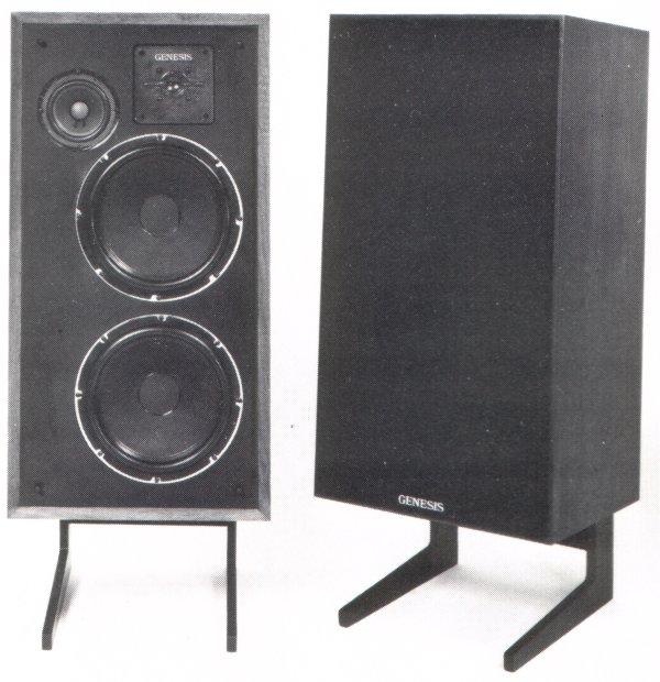 Genesis Physics Speakers Model 410 Ebay