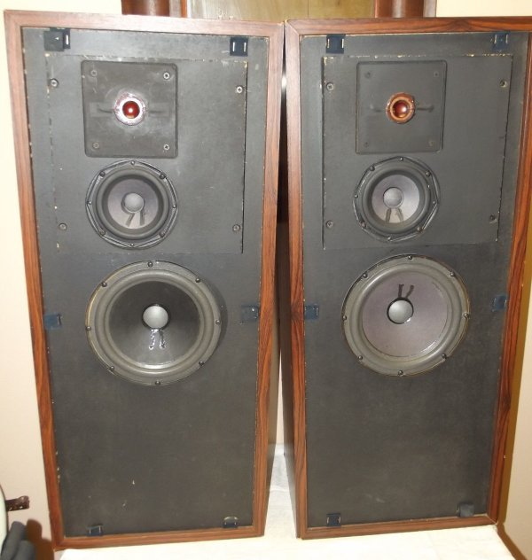 FLS 6 speakers without grills