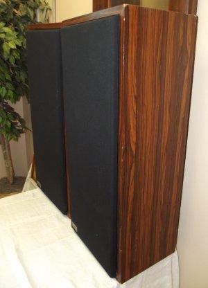 FLS speakers with grills