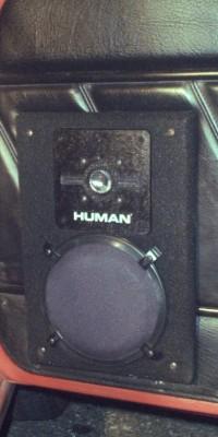 HUMAN A-61 in Audi 4000 Quattro, right door, without door pocket